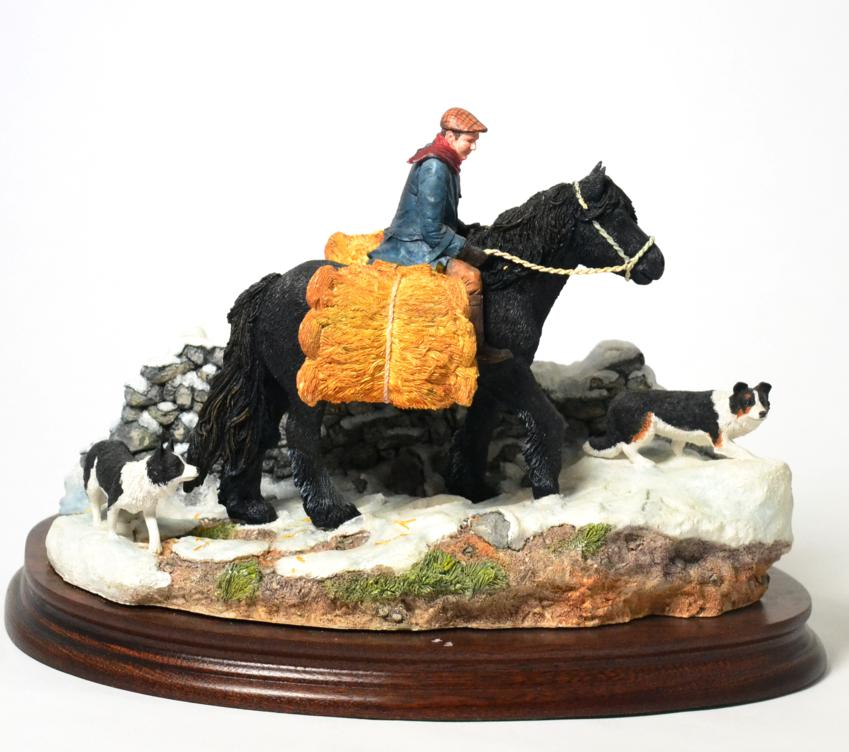 Tennants Auctioneers: Border Fine Arts 'Carrying Burdens' (Pony