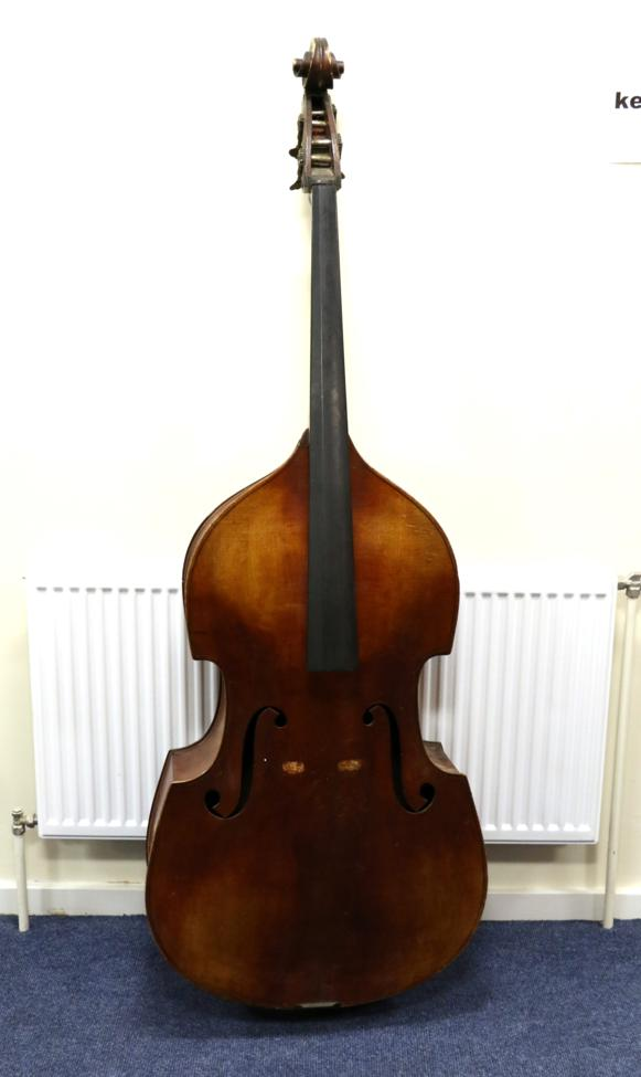 Tennants Auctioneers: Double Bass Three Quarter Size